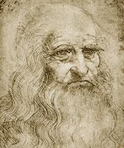 Автопортрет Леонардо да Винчи. 1510-13 гг.